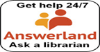 Answerland - Ask a librarian