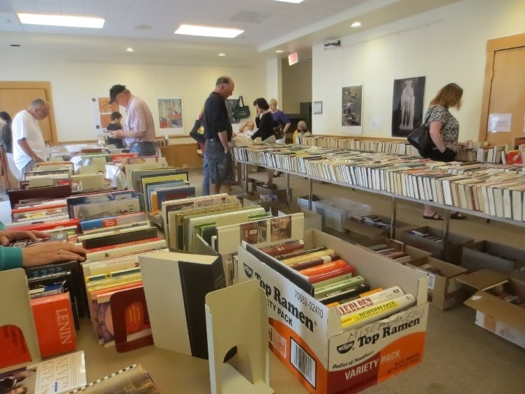 friends of the library book sale 2014